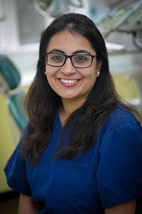 Tamanna Chopra, associate dentist at Euro Dental