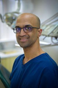 Pratik Patel, associate dentist and implantologist at Euro Dental