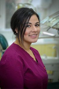 Kayla Wagner, dental nurse at Euro Dental