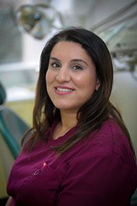Elaheh Asghai, dental nurse at Euro Dental