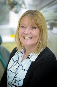 Vicky Turasz, head receptionist at Euro Dental