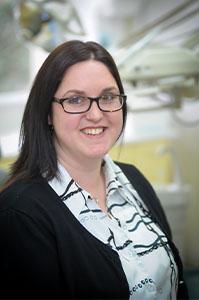 Vicki Carey, receptionist at Euro Dental