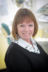 Sue Duncan receptionist a Eurodental