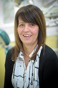 Lynne Hiller, receptionist at Euro Dental