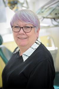 Judy Parsons receptionist at Euro Dental